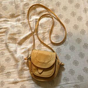 Handbags - 3/$25 Small Beige/yellow crossbody purse